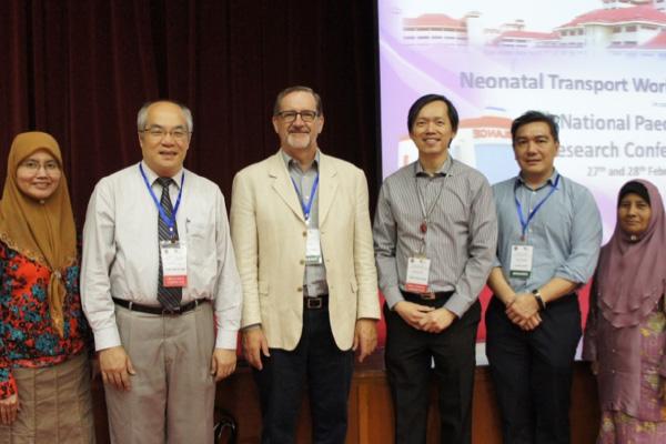 Figure 4: Invited speakers of the Neonatal Transport workshop 2016